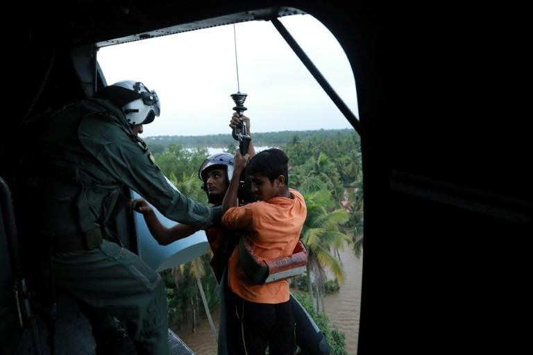 Thousands of army, navy and air force troops have fanned out across Kerala to assist