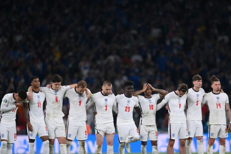 England are aiming to bounce back from losing the Euro 2020 final on penalties (AFP/Laurence Griffiths)