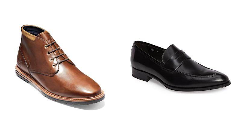 Add extra polish to that work attire with these sharp dress shoes.