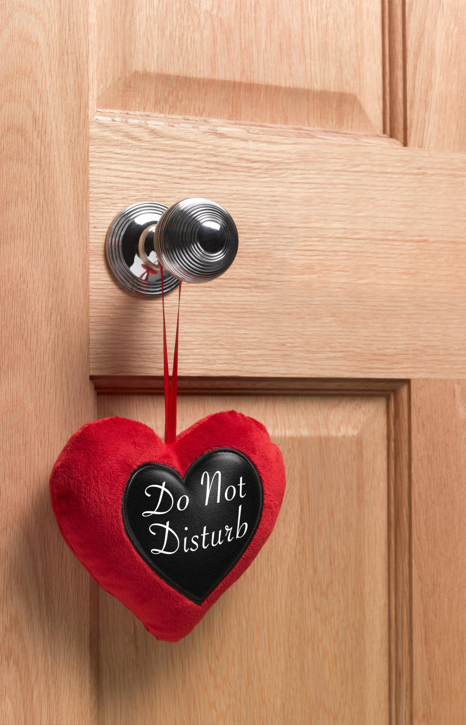 Sexually active 'do not disturb sign'