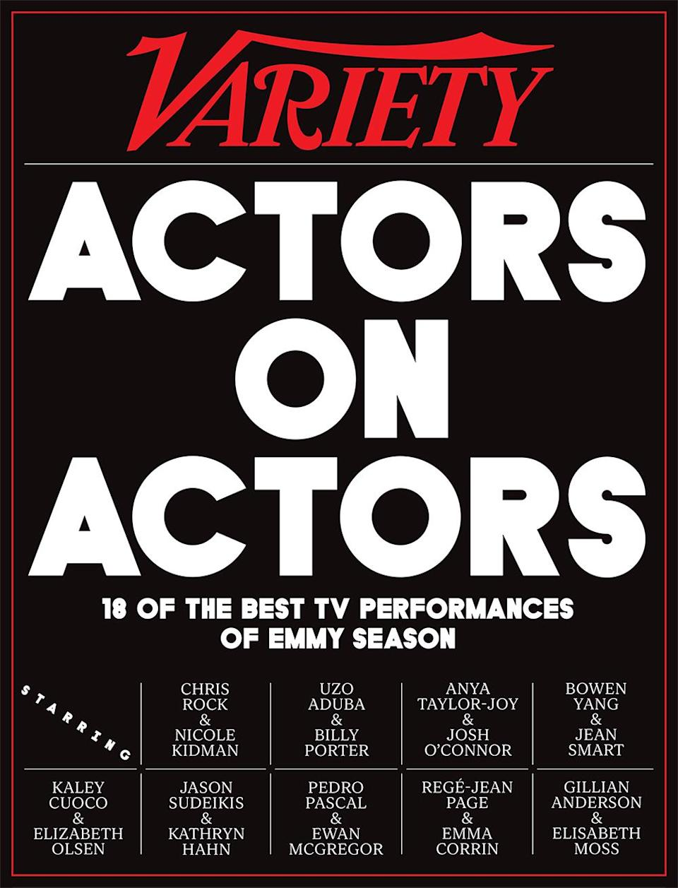 Variety Actors on Actors Emmys 2021
