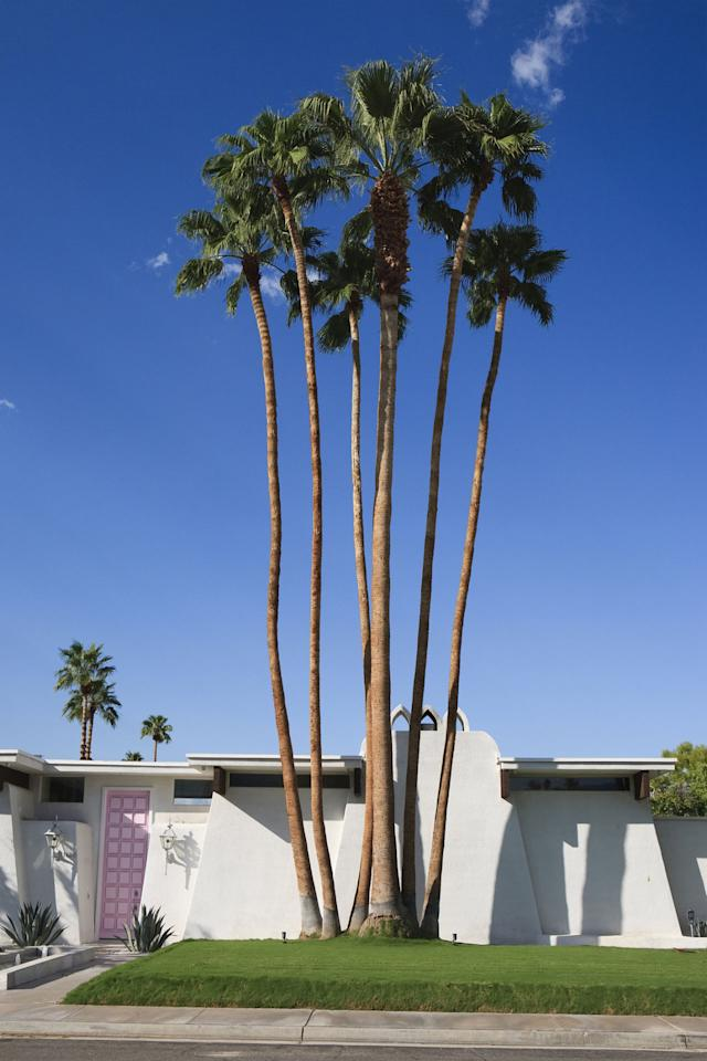 "<p>Moved on from your annual pilgrimage to Coachella, but still want to soak in those desert vibes? Palm Springs is the bachelorette destination for you. Stay right in the middle of it all at the <a rel=""nofollow"" href=""https://www.acehotel.com/palmsprings"">Ace Hotel</a> or the <a rel=""nofollow"" href=""http://www.colonypalmshotel.com/"">Colony Palms</a>, or rent an <a rel=""nofollow"" href=""https://www.airbnb.com/rooms/2075652"">Airbnb</a> or a <a rel=""nofollow"" href=""http://www.luxuryretreats.com/vacation-rentals/united-states/california-desert-cities/palm-springs/"">luxe home</a> to give the weekend a slumber party vibe.</p>"