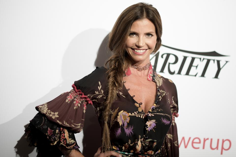 Charisma Carpenter attends the