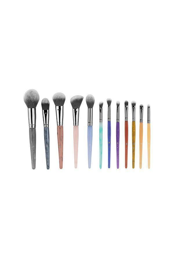 """<p><strong>BH Cosmetics</strong></p><p>ulta.com</p><p><strong>$28.00</strong></p><p><a href=""""https://go.redirectingat.com?id=74968X1596630&url=https%3A%2F%2Fwww.ulta.com%2Fcrystal-zodiac-12-piece-brush-set%3FproductId%3Dpimprod2012940&sref=https%3A%2F%2Fwww.oprahdaily.com%2Flife%2Fg31400004%2Funique-mothers-day-gifts%2F"""" rel=""""nofollow noopener"""" target=""""_blank"""" data-ylk=""""slk:SHOP NOW"""" class=""""link rapid-noclick-resp"""">SHOP NOW</a></p><p>We bet mom can't help but smile when she opens this set of colorful makeup brushes, which were inspired by healing crystals. </p>"""
