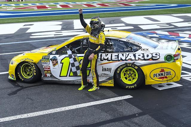 Blaney's Roval win 'monumental' for career