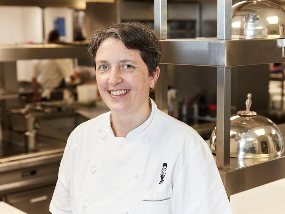 <p>Rachel Humphrey, of Michel Roux Jr's two-star Michelin restaurant Le Gavroche, recommends a hearty salmon pasta  </p> (Supplied)