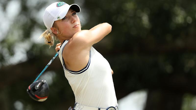Florida's Brooks (68) shares Q-School medalist honors while studying for exam