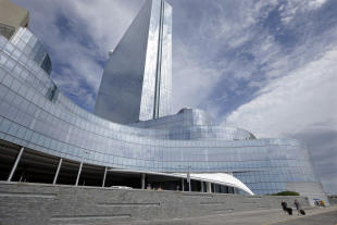 The shuttered Revel Casino Hotel in Atlantic City, N.J. has been sold to a Florida developer for $95.4 million.