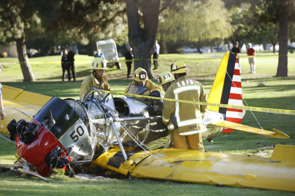 Harrison Ford suffered head wound the 'size of a pancake' in plane crash