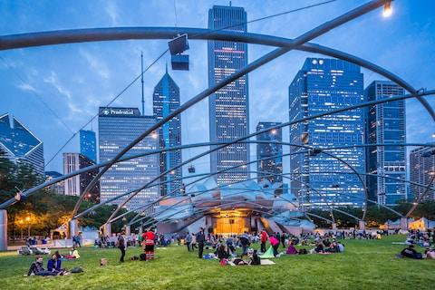 Millennium Park - Credit: getty