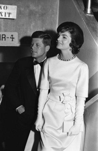 Not originally published in LIFE. President-elect John Kennedy with Jackie in January 1961.