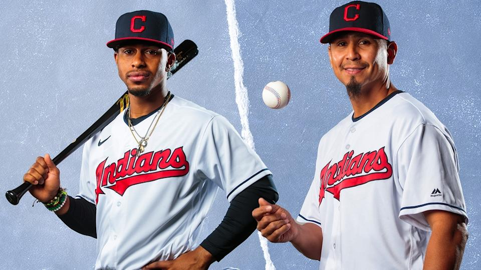 Francisco Lindor and Carlos Carrasco treated image