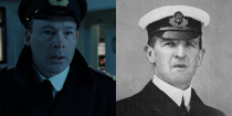 <p>Played by Ewan Stewart, William Murdoch served as first officer on the <em>Titanic</em>. The movie shows Murdoch committing suicide after the ship hits the iceberg, but whether the real Murdoch did so is a matter of debate. After the release of <em>Titanic</em>, Murdoch's family demanded an apology from James Cameron and 20th Century Fox for the portrayal of their relative. </p>