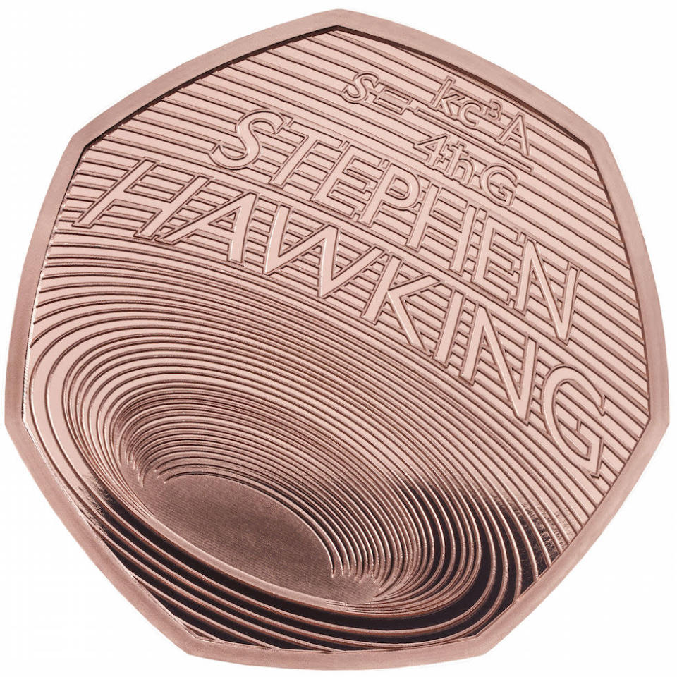 There is also a gold proof version of the 50p which costs £795 (Picture: PA)