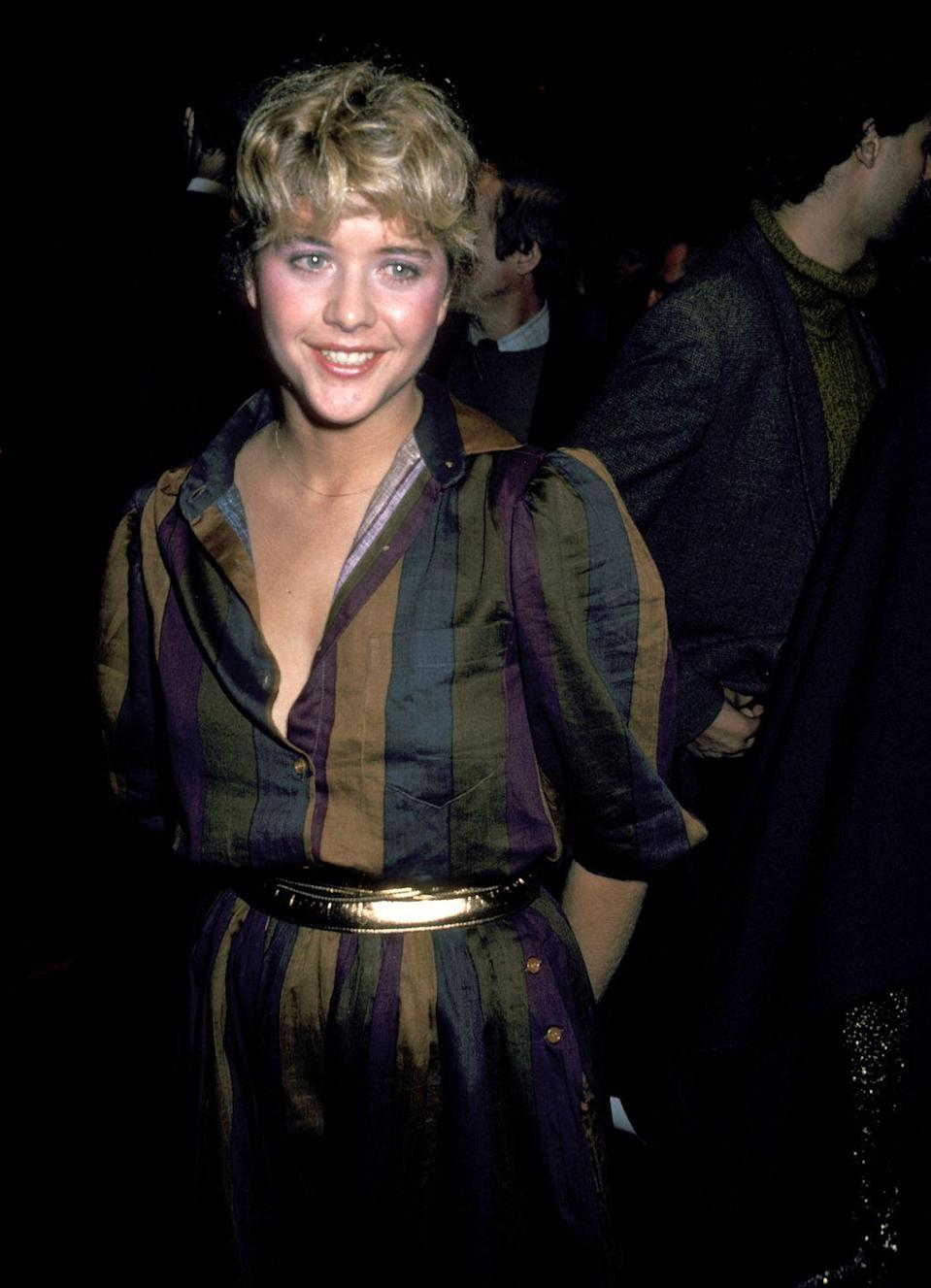 <p>Meg Ryan became a household name after starring in some of the most popular romantic comedies from the '80s and '90s, including <em>When Harry Met Sally </em>and <em>Sleepless in Seattle. </em>But back in 1981, the actress was just getting started when she made her red carpet debut for her first film <em>Rich and Famous. </em></p>