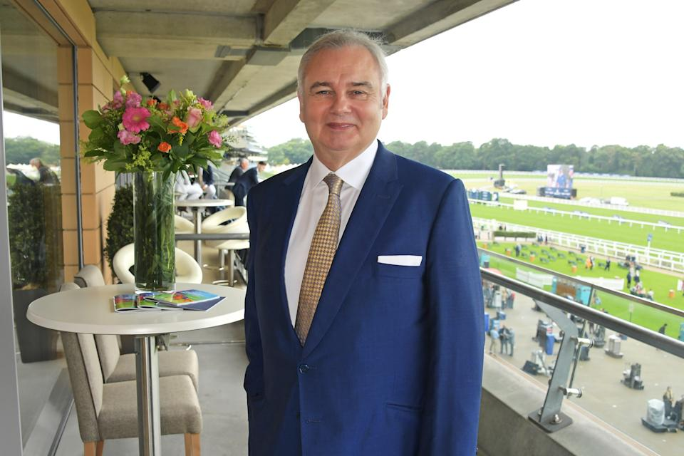 Eamonn Holmes attends the King George Weekend at Ascot Racecourse on July 27, 2019 in Ascot, England.  (Photo by David M. Benett/Dave Benett/Getty Images for Ascot Racecourse)