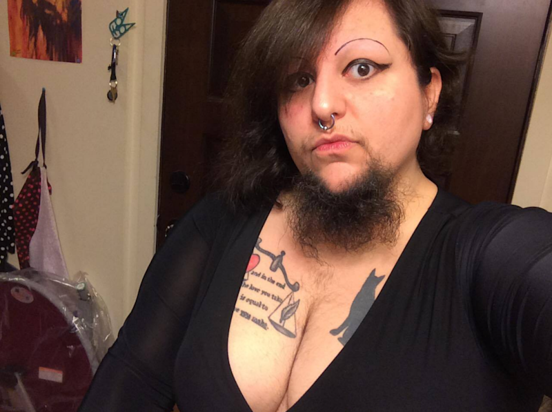 This woman stopped shaving her beard and it changed her life