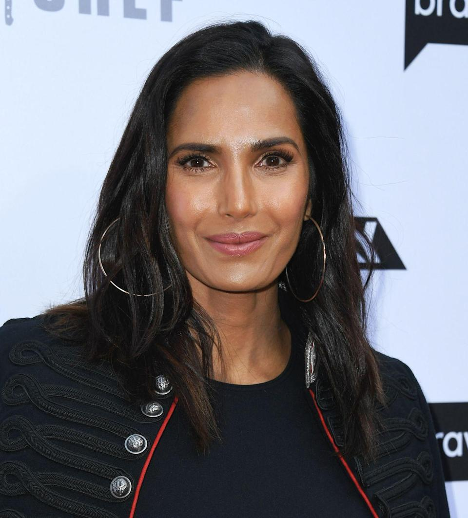 """<p>In a guest column for <em><a href=""""https://www.hollywoodreporter.com/news/top-chef-host-padma-lakshmis-dilemma-8000-calories-a-day-red-carpet-ready-guest-column-1031429"""" rel=""""nofollow noopener"""" target=""""_blank"""" data-ylk=""""slk:The Hollywood Reporter"""" class=""""link rapid-noclick-resp"""">The Hollywood Reporter</a></em>, Lakshmi revealed that she consumes between 5,000 to 8,000 calories a day testing contestants' meals. </p>"""