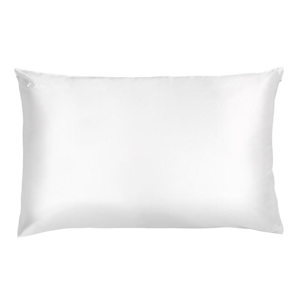 "<p><strong>Blissy</strong></p><p>blissy.com</p><p><strong>$69.95</strong></p><p><a href=""https://blissy.com/products/pillowcase-white-standard"" rel=""nofollow noopener"" target=""_blank"" data-ylk=""slk:Shop Now"" class=""link rapid-noclick-resp"">Shop Now</a></p><p><strong>It's one of the most searched for silk pillowcase brands and has thousands of five-star reviews</strong> from verified buyers on its website. Though there's no major callout for what makes it unique, users say they like this one better than other trendy brands. We haven't tested it in the Lab yet, but can't wait to get our hands on it. </p>"