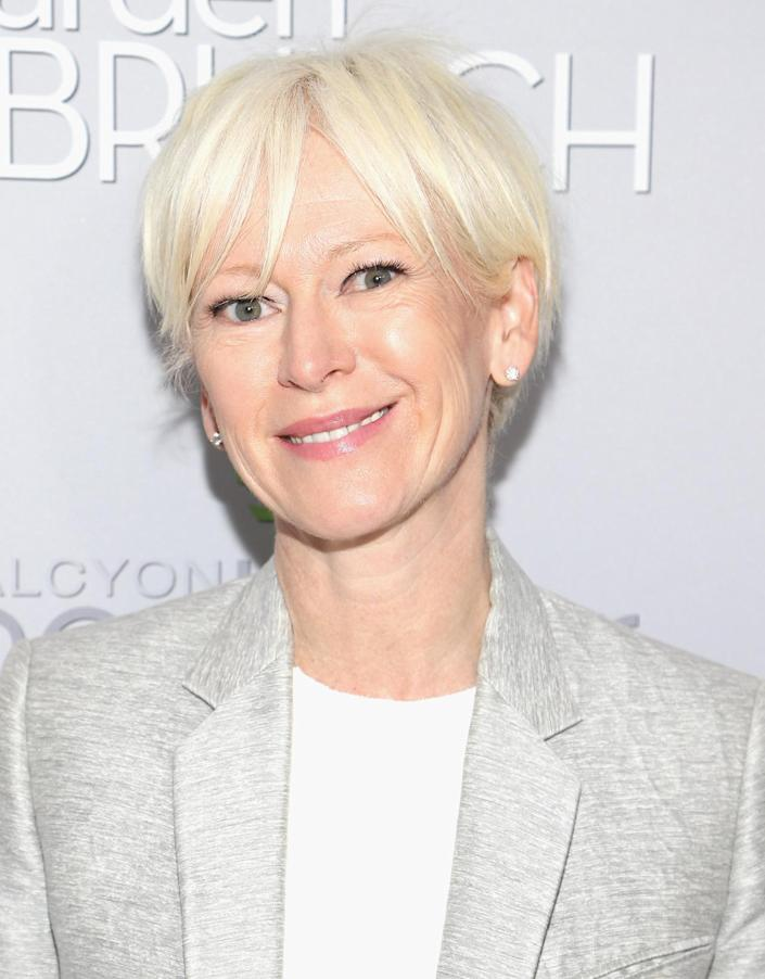 <p>Joanna Coles attends the Garden Brunch prior to the 102nd White House Correspondents' Dinner, April 30. <i>(Photo: Paul Morigi/WireImage)</i></p>