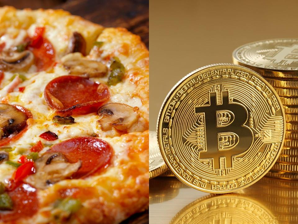 <p>Crypto developer spent $378m worth of fledgling Bitcoin on pizza lunch</p> (Getty/iStock)
