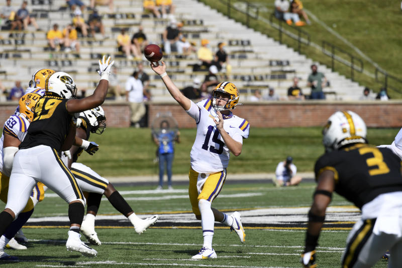 Missouri LSU Football