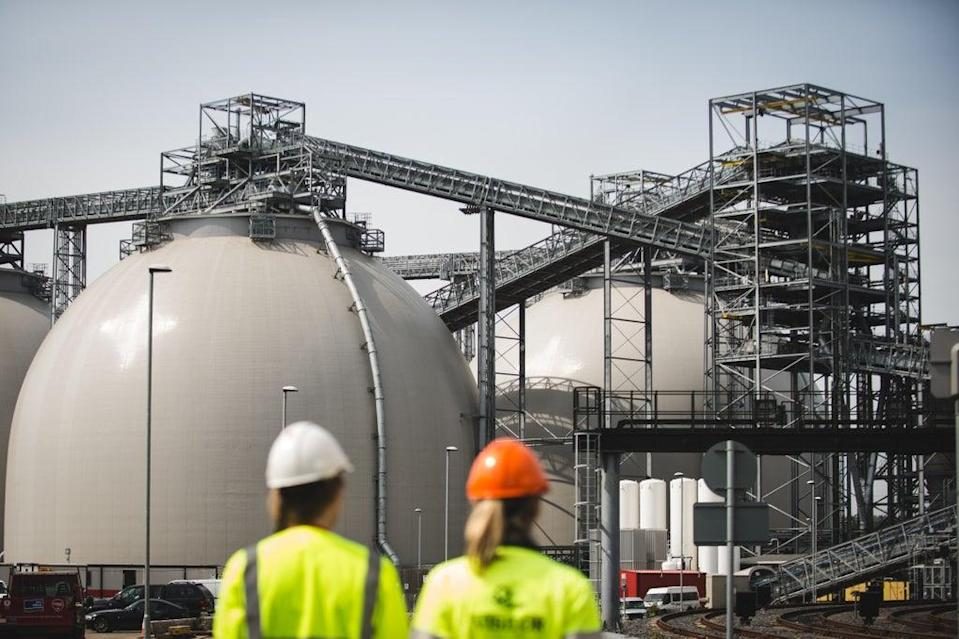 Biomass is part of the UK's planned renewable energy mix  (Drax)
