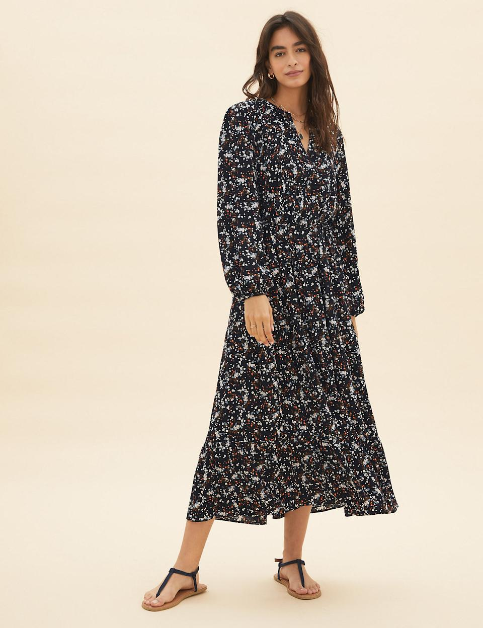 Whether you dress it with sandals for the summer or boots in the winter, it's bound to see you through all year round. (Marks & Spencer)