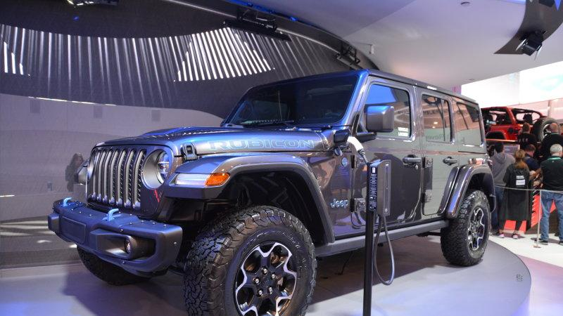 Watch The Jeep Grand Wagoneer Concept And Wrangler 4xe Phev Debut Live Here