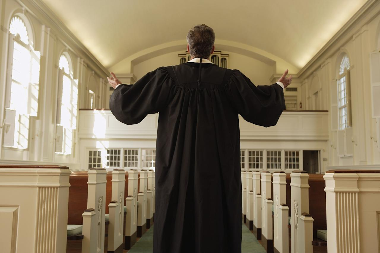 <p>No. 9 least respected: Priest / ministers<br />Percentage of positive opinions: 59 per cent<br />(Mark Edward Atkinson / Getty Images) </p>