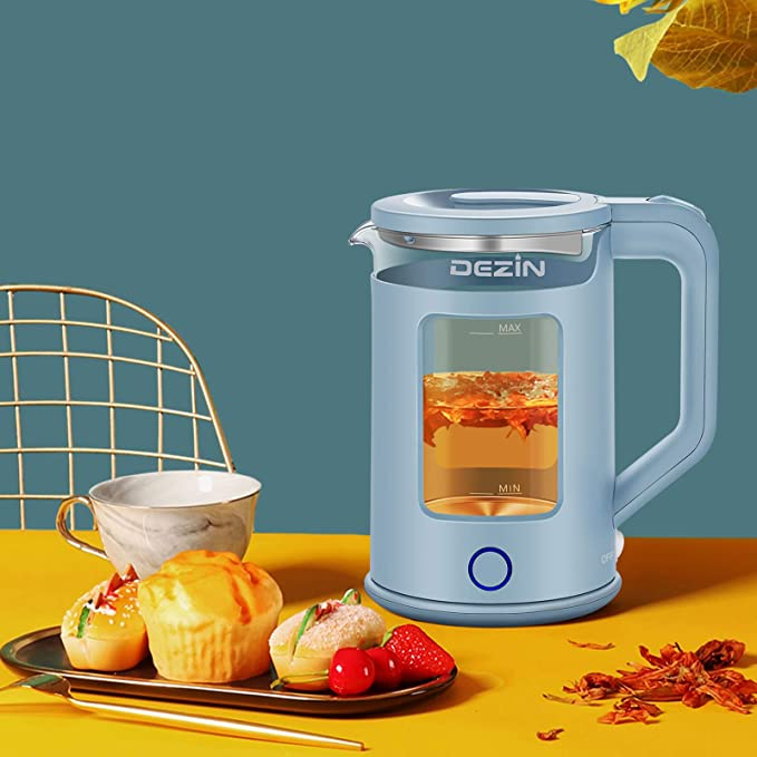 """<br><br><strong>Dezin</strong> Electric Kettle, $, available at <a href=""""https://amzn.to/39elBPO"""" rel=""""nofollow noopener"""" target=""""_blank"""" data-ylk=""""slk:Amazon"""" class=""""link rapid-noclick-resp"""">Amazon</a>"""