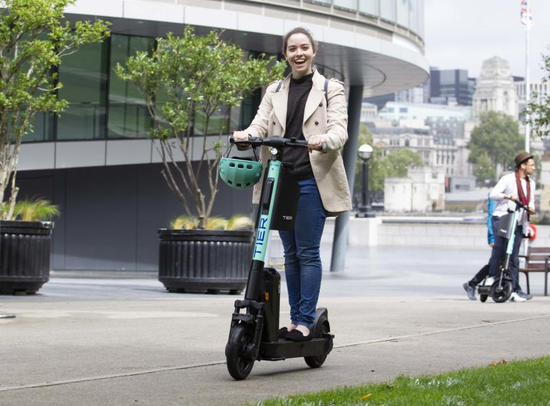 Tier e-scooter launch