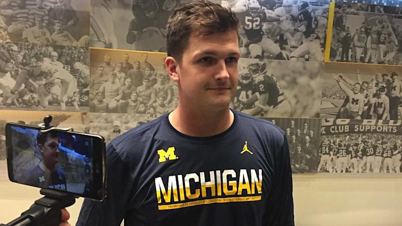 Wilton Speight healthy, confident, ready for Michigan's next shot