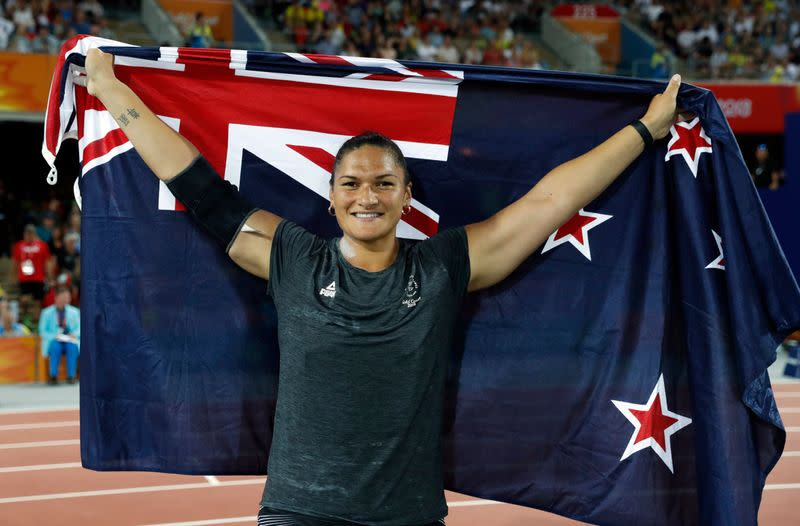 Olympics: New Zealand's double shot-put champ Adams qualifies for fifth Games