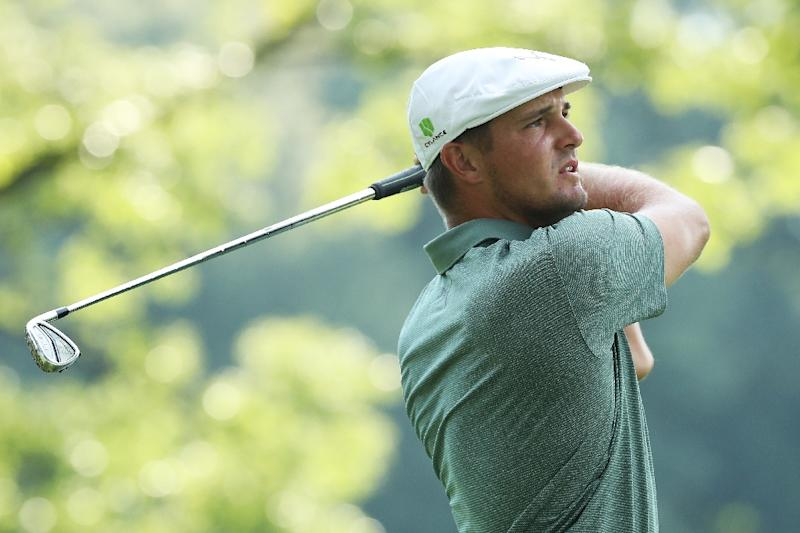 DeChambeau delighted after charging to a four-stroke lead