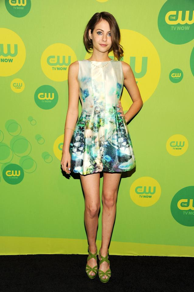NEW YORK, NY - MAY 16:  Actress Willa Holland attends The CW Network's New York 2013 Upfront Presentation at The London Hotel on May 16, 2013 in New York City.  (Photo by Ben Gabbe/Getty Images)