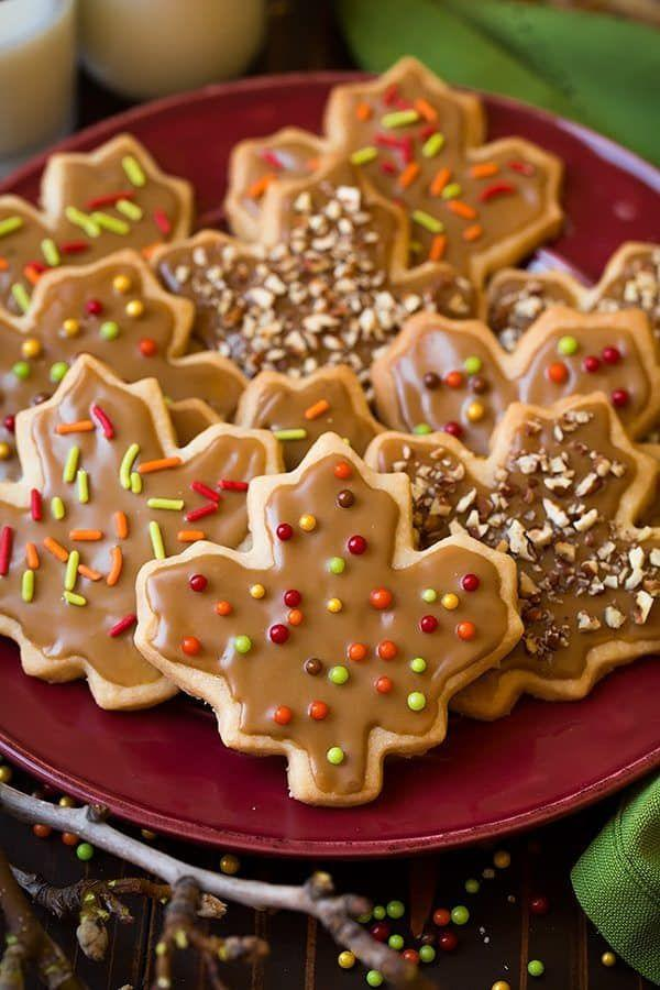 """<p>Maple syrup is practically a form of currency in Vermont, and you can bet that around the holidays the sugary goodness is getting used in as many recipes as possible. These buttery shortbread cookies have a ridiculously good maple glaze that will definitely make you want to lick the bowl.</p><p>Get the recipe from <a href=""""https://www.cookingclassy.com/glazed-maple-shortbread-cookies/"""" rel=""""nofollow noopener"""" target=""""_blank"""" data-ylk=""""slk:Cooking Classy"""" class=""""link rapid-noclick-resp"""">Cooking Classy</a>.</p>"""