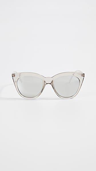 """<p><strong>Le Specs</strong></p><p>shopbop.com</p><p><strong>$59.00</strong></p><p><a href=""""https://go.redirectingat.com?id=74968X1596630&url=https%3A%2F%2Fwww.shopbop.com%2Fhalf-moon-magic-sunglasses-le%2Fvp%2Fv%3D1%2F1557357066.htm&sref=https%3A%2F%2Fwww.redbookmag.com%2Flife%2Fg34761712%2Fgifts-for-boyfriends-mom%2F"""" rel=""""nofollow noopener"""" target=""""_blank"""" data-ylk=""""slk:Shop Now"""" class=""""link rapid-noclick-resp"""">Shop Now</a></p><p>If you always see your BF's mom sporting a cool pair of shades, add these Le Specs cat-eye sunglasses to her collection. (Tbh, you might wanna grab a pair for yourself, too...) </p>"""