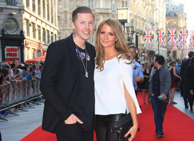 Professor Green Millie Mackintosh