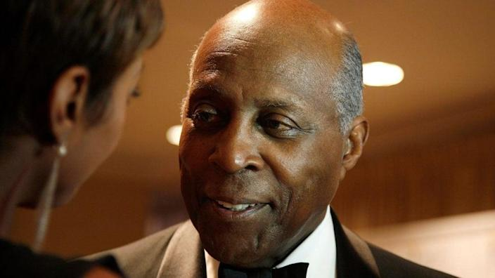 """In this March 3, 2011 photo, Vernon Jordan attends the 40th Anniversary Gala for """"A Mind Is A Terrible Thing To Waste"""" Campaign at The New York Marriott Marquis. (Photo by Andy Kropa/Getty Images)"""