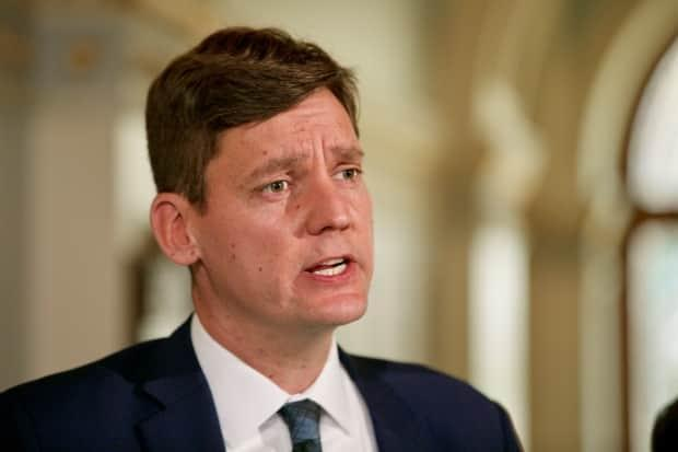 B.C. Housing Minister David Eby says homeless shelter workers have been notified from the beginning of the pandemic that they should assume everybody they work with could test positive for COVID-19. (Michael McArthur/CBC - image credit)