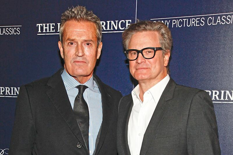Co-stars: Rupert Everett plays Oscar Wilde, while Colin Firth is Reggie Turner: Andy Kropa/Invision/AP
