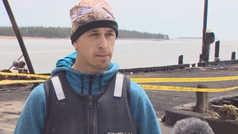 Fire damage to Yarmouth County wharf concerns skippers