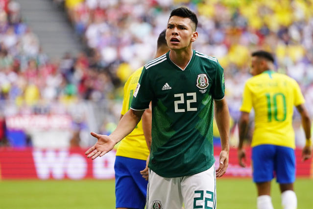 Hirving Lozano. / Foto: Jam Media