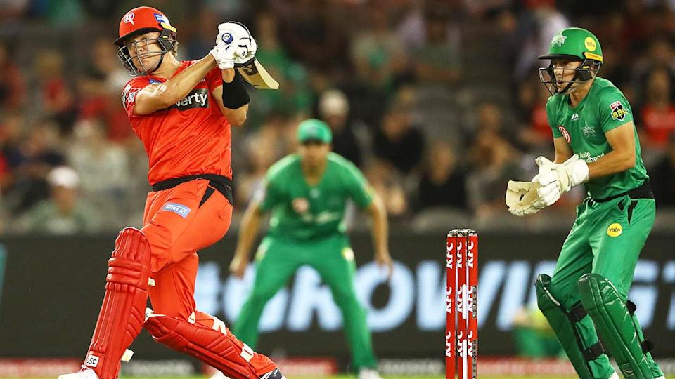 The Melbourne Renegades and Melbourne Stars, pictured here in action in the Big Bash League.