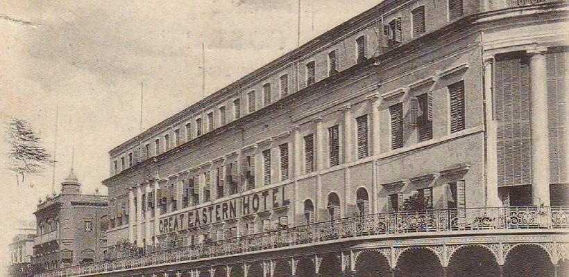 """The LaLiT Great Eastern Kolkata was built in 1841 as the """"Auckland Hotel"""" or Wilson Hotel and is the longest continuously operating luxury hotel in Asia with 165 years of operation until its renovation in 2006"""