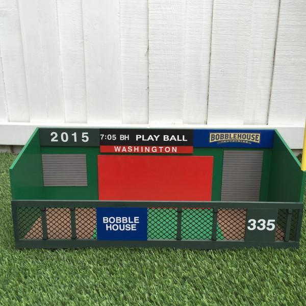 This dugout was built specifically for bobbleheads. (bobblehouse.com)