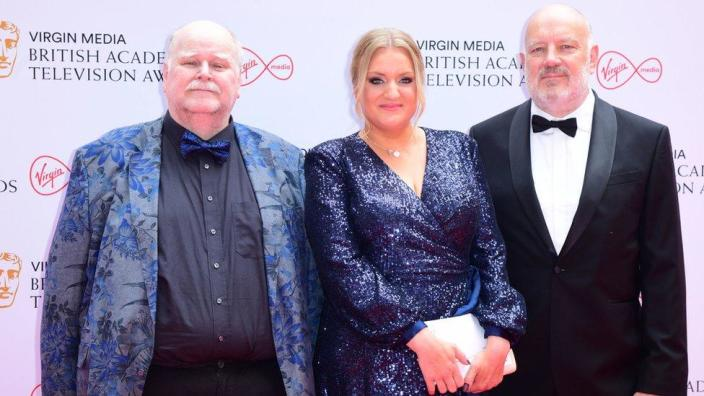 Trevor Cooper, Daisy May Cooper and Paul Cooper