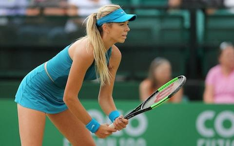 In the zone: Katie Boulter is hoping to break into the top 100 this year at Wimbledon - Credit: Getty Images Europe