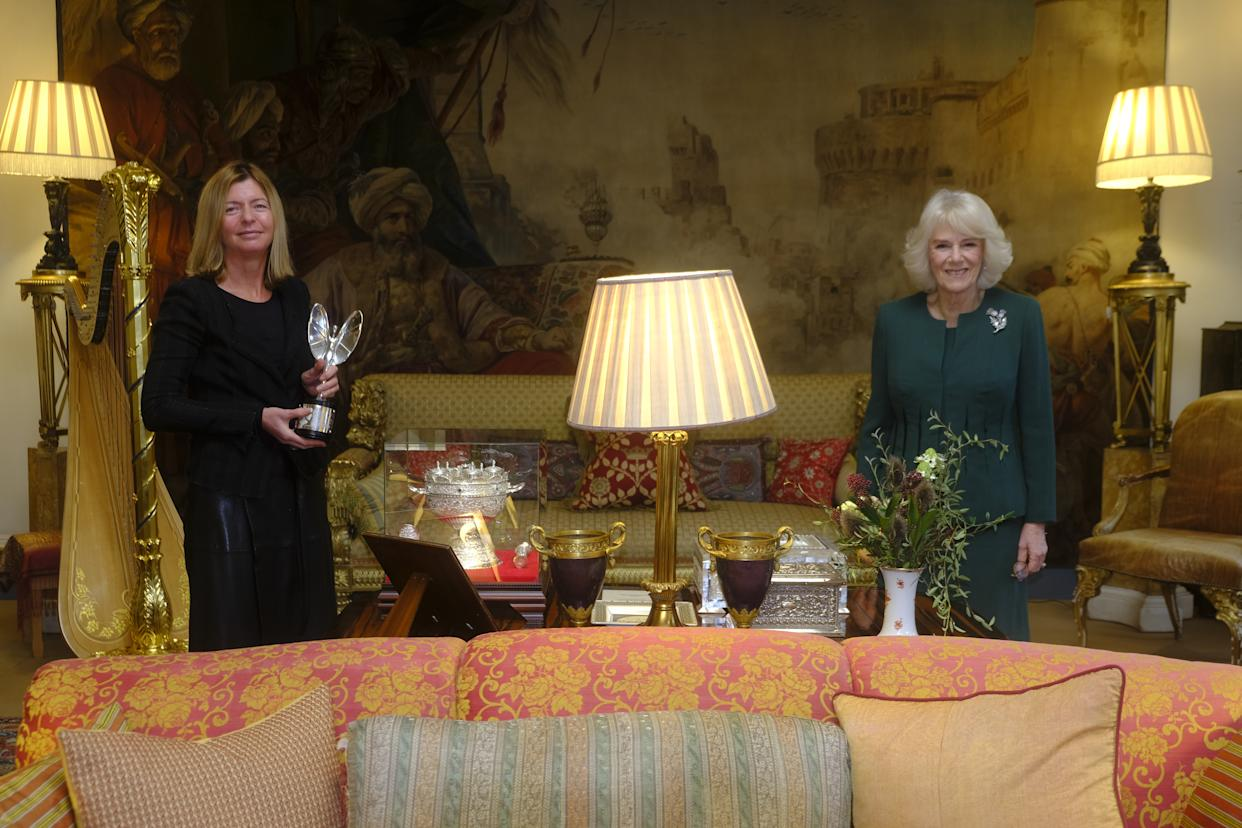 Dame Laura Lee and the Duchess of Cornwall